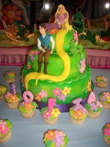 Torta de la Princesa Enredados